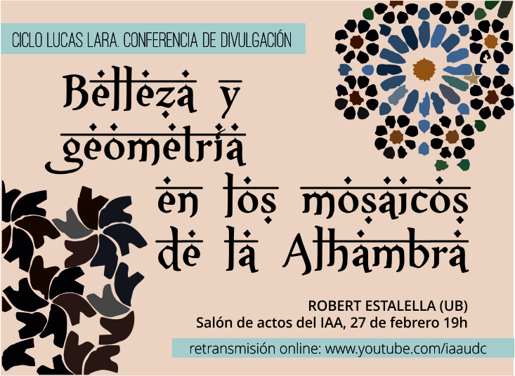 Beauty and geometry in Alhambra mosaics