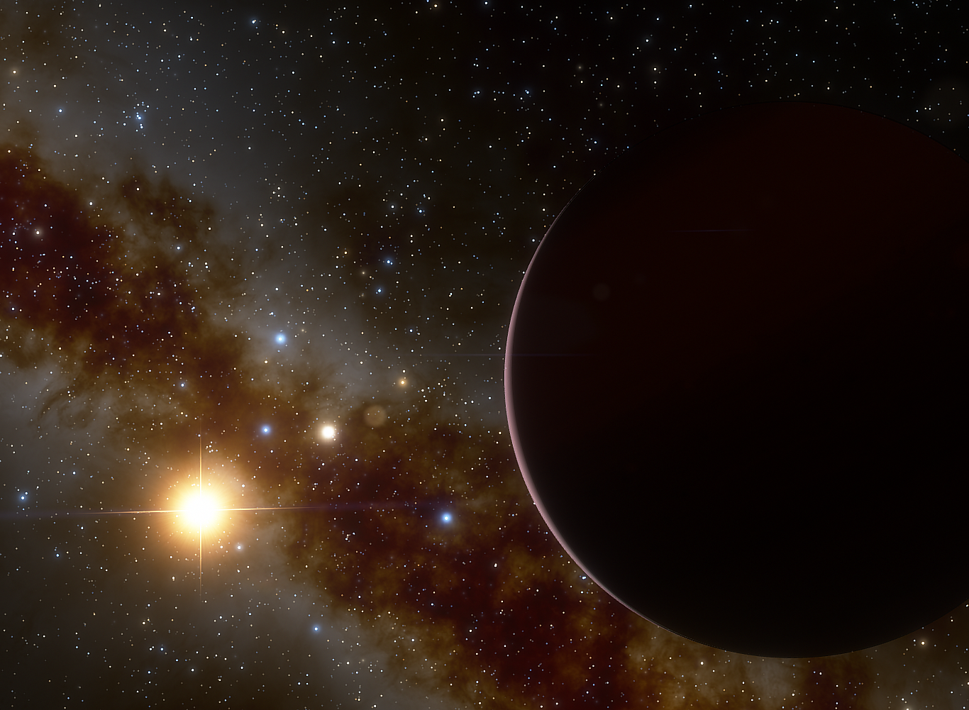 CARMENES finds an anomalous planetary system