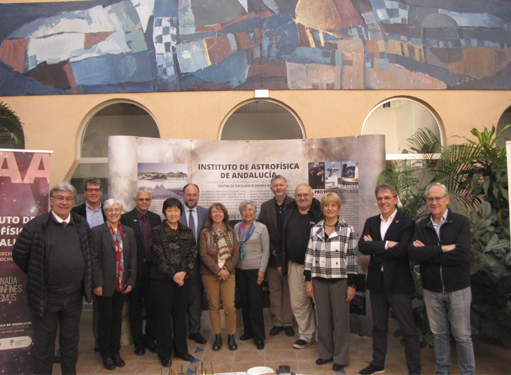 The Institute of Astrophysics of Andalusia receives the visit of its External Scientific Advisory Board