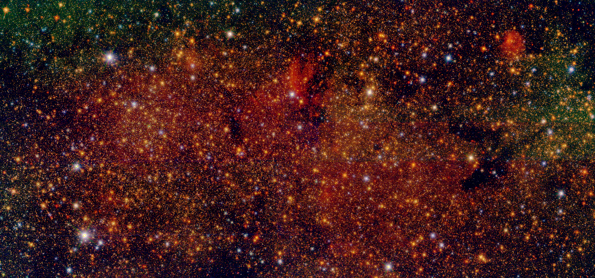 The first results of the GALACTICNUCLEUS project, the most detailed star catalogue of the galactic centre, are published