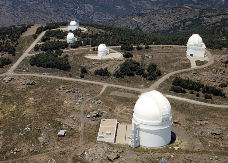 """A more sustainable observatory: Calar Alto will be converted into an """"energy island"""""""