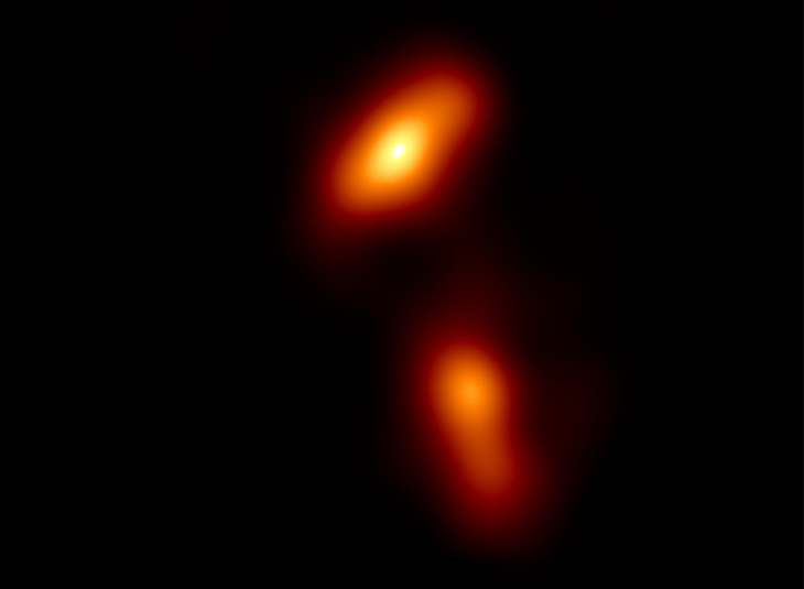 The Event Horizon Telescope reveals unexpected structures in quasar 3C279