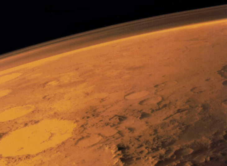 Detection of the green line of oxygen in the atmosphere of Mars
