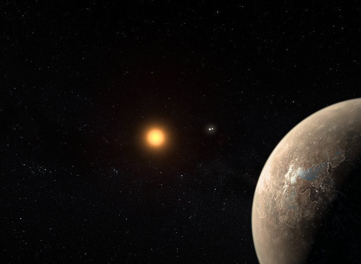 A study of the radio emission of Proxima Centauri, the closest planetary system, opens a new path for the study of exoplanets