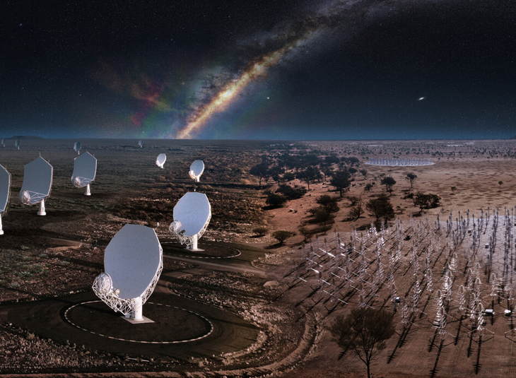 The largest radioastronomy observatory in the world, SKAO, is born