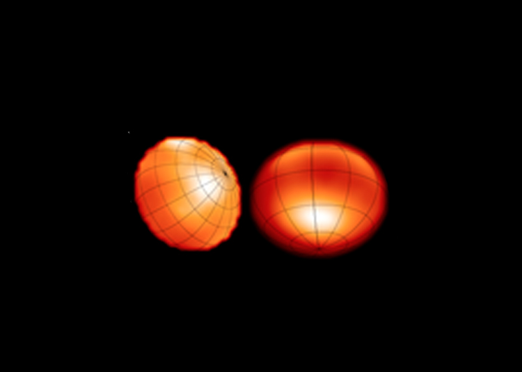 A method to study distorted white dwarf stars is developed