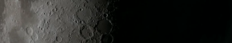 Impact of a rock against the moon