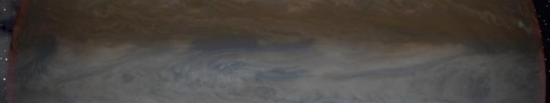 Júpiter visto desde su luna Ganímedes