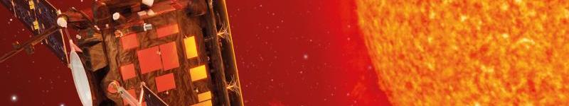 Artistic representation of SOLAR ORBITER mission