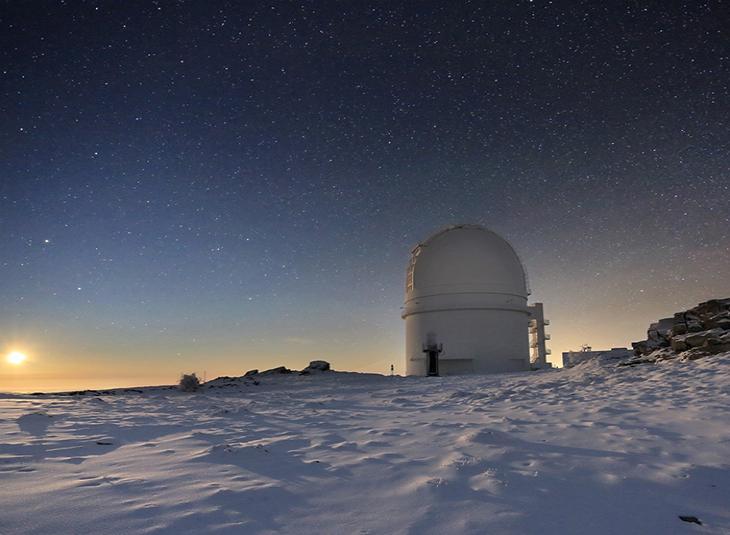 La Junta se incorporará al Observatorio de Calar Alto en enero de 2019