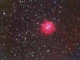 NGC 1624 observada en h-alfa