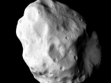 Image of Lutetia taken by ROSETTA mission